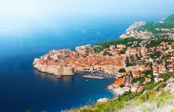 Free Old Town, Port And Fortress Walls Stock Image - 32911011