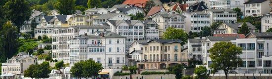 Old town port sassnitz panorama Stock Photos