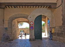 Old town portals Royalty Free Stock Photography