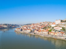 Old town of Porto from above, Portugal Stock Photography