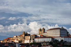 Old Town of Porto City Skyline in Portugal Royalty Free Stock Photo