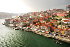 Old town in Porto (Portugal) Royalty Free Stock Photography