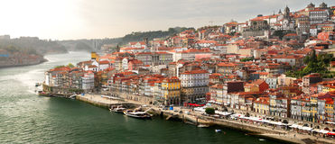 Old town in Porto (Portugal) Royalty Free Stock Photos
