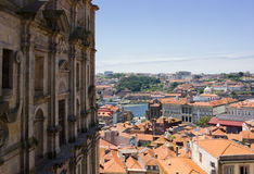 Old town of Porto, Portugal. Old town of Porto at summer day, Portugal Royalty Free Stock Image