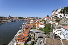 Old town of Porto, World Heritage site, in Portugal Royalty Free Stock Photos