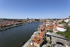 Old town of Porto, World Heritage site, in Portugal Stock Photos