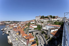 Old town of Porto, World Heritage site, in Portugal Royalty Free Stock Image