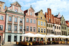 Old Town in Poznan Stock Photography