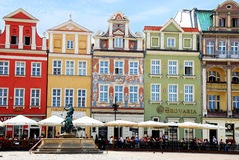 Old Town in Poznan Royalty Free Stock Image