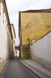 Old town in Prague. Street in old town Prague city Royalty Free Stock Photos