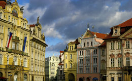 Old town in Prague Stock Photo