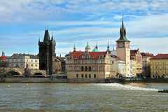 The Old town in Prague Stock Images