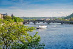 the old town in Prague Royalty Free Stock Photo