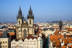 Old Town in Prague, Czech Republic Stock Image