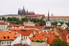 Old town of Prague, Czech Republic Royalty Free Stock Photo