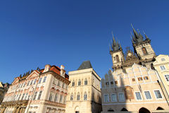 Old town of Prague Stock Image