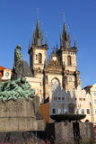 Old town of Prague Royalty Free Stock Photos
