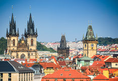 Old Town in Prague, Czech Republic Stock Photo