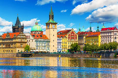 Old Town in Prague, Czech Republic Stock Images