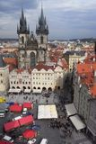 Old town in Praha Royalty Free Stock Photos