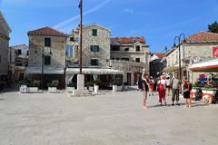 Old town Primosten, Croatia Stock Photos