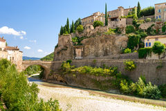 Old town in provence Royalty Free Stock Photography