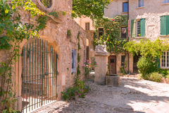 Old town in provence Stock Images