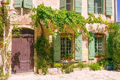 Old town in provence Royalty Free Stock Image