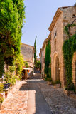 Old town in provence Stock Image