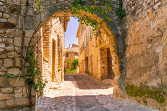 Old town in provence Royalty Free Stock Photos