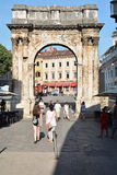 Old town of Pula Stock Photography