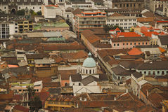 Old town of Quito Stock Photography
