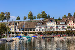 Old town of Rapperswil, Switzerland Stock Photos