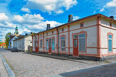 Old Town of Rauma, Finland Royalty Free Stock Photography