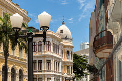 Old Town in Recife, located in Pernambuco State, Brazil Royalty Free Stock Images