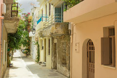 The old town of Rethymno Stock Photo