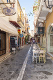 The old town in Rethymno Royalty Free Stock Photos