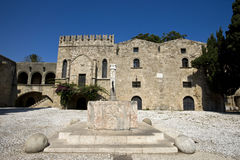 Old town of Rhodes, Greece Royalty Free Stock Images