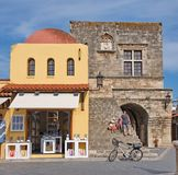 Old Town of Rhodes royalty free stock photo