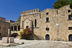 Old town of Rhodes. Royalty Free Stock Photography