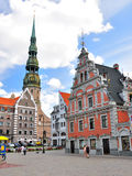 Old Town, Riga Stock Photo