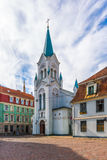 Old Town Riga Royalty Free Stock Images
