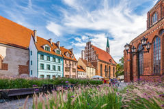 Old Town Riga Stock Image