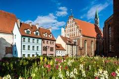 Old town Riga stock photos