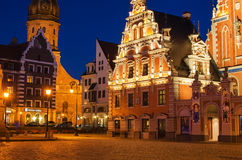 Old Town of Riga (Latvia) Royalty Free Stock Photos
