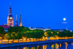 Old Town of Riga, Latvia Stock Image