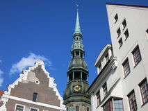 Old Town of Riga Stock Photography