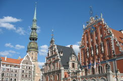 Old Town of Riga Royalty Free Stock Photo