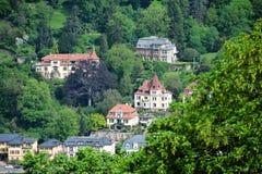 Old town beside river,Heidelberg,Germany Royalty Free Stock Image