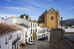 Old Town of Ronda Stock Photos